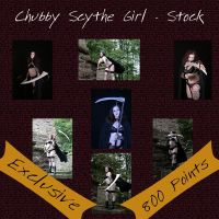 Scythe Girl Exclusive Stock by Leichenengel