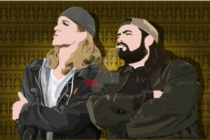 Jay and Silent Bob by jash99