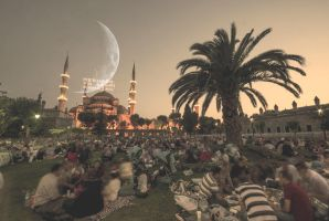Sultanahmed Mosque and Ramadan by AhmetSelcuk