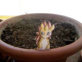 Paperchild 81. Pokemon #28 - Sandslash by FuriarossaAndMimma