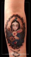 Tattoo Blancanieves by jbecerra