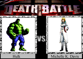 Hulk vs. Michelle K. Davis by JasonPictures