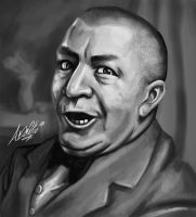 New Curly Howard by Torvald2000