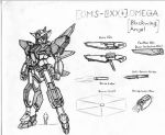 OMS-0XX+ Blackwing Angel Omega by Linkinpark30101