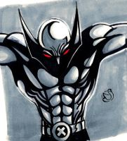 A sketch A Day: Wolverine 2 by Electagonist