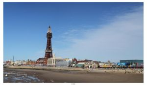 Blackpool Seafront Panorama by TakeMeToAnotherPlace
