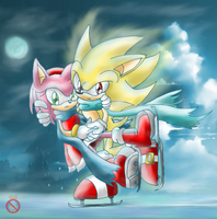 Super Sonamy by shadowhatesomochao