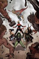 A-Force #3 by ZurdoM