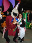 Fiddlesticks and Panda Teemo Cosplay by LadyMoonie