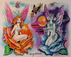 Butterflies by Artistic-Tattooing