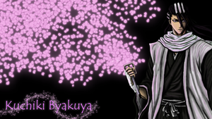Byakuya Kuchiki Wallpaper by DOGGMAFFIA