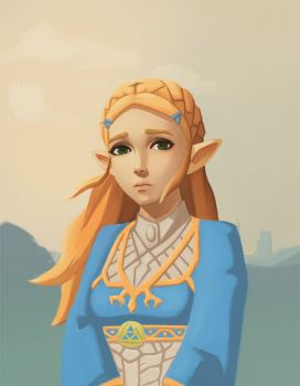 Zelda fanart by NukeMed