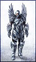 Angel_Warrior by Gryphart