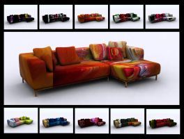 FUNKY SOFA by 11thagency