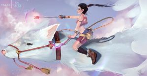 Crossing the Sky by Naussi