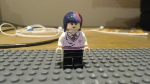 Lego Twilight Sparkle Minifigure by BrickBrony1894