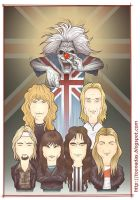 Iron Maiden - colors by Ferlancer