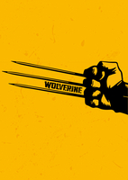 PosterVine Wolverine Claw Arm Poster by PosterVine