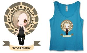 Starbuck Design Printed by Lunai
