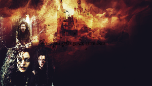 Wall Bellatrix Lestrange by-Hopless-space by Hopless-space