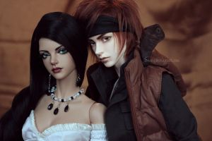 Katherine and Ren by Sarqq