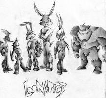 Loonatics by Detroitanimeking