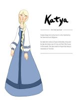 Katya Character Sheet by brusierkee