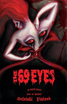 The 69 eyes by PeachyWitchy