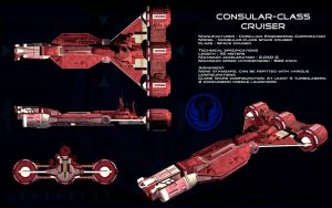 Consular class cruiser ortho by unusualsuspex