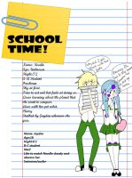 School Time! by Triickaro