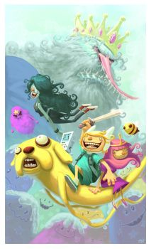 Adventure Time by thurZ