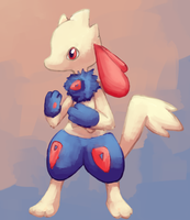 Lucario Togepi Auction by Grrrowlithe