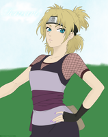 Temari of the Sand by xoxbattleangel