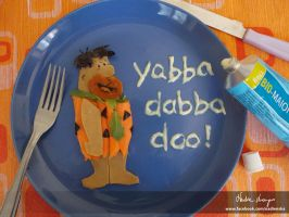 Veg Flintstone by NadienSka