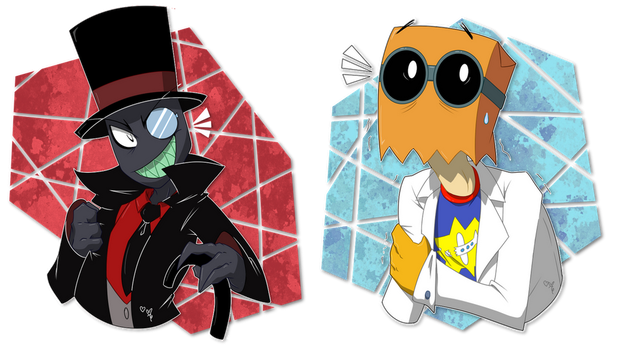 The Villain and his Scientist by AR-ameth