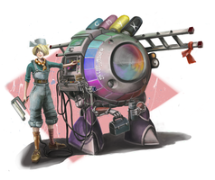 Industrial Paint Bot by mister-k81