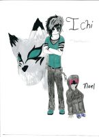 New character Ichi by sanddemon12