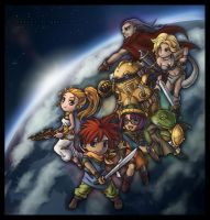 CHRONO TRIGGER - Tribute by Dice9633