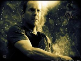 Jack Bauer - 24 - Wallpaper by worthar