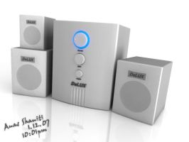 Deluxe Speakers : 3D by AShinati