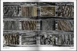 Texture pack. Tree bark (23 pieces) by Chari-ot