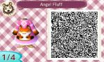 ACNL QR Code - Sweet Fox 1/4 by foreverbluejeans