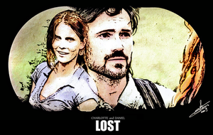 LOST - Daniel and Charlotte by nami64