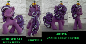 Fine Detail Screwball Pony by janiceghosthunter