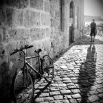 A Bike And a Shadow by Vrohi