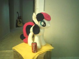 BonBon Pony Plush by ponydeath