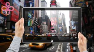 Surface 3D -  marketing concept by Zulusus