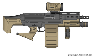"""SPW """"Operator"""" M249 by Robbe25"""