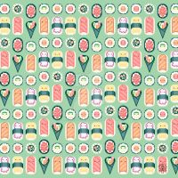 Super Kawaii Sushi by amkili