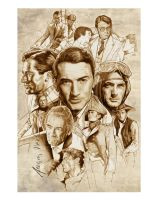 Gregory Peck by NachoCastro